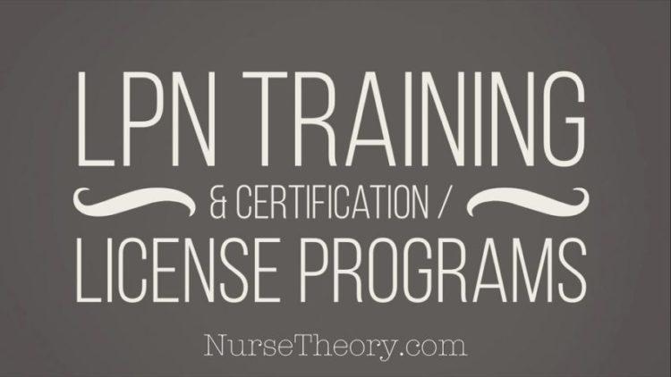 LPN training & certification/license programs - Nurse Theory